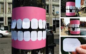 Marketing de Guerrilla: Dentista